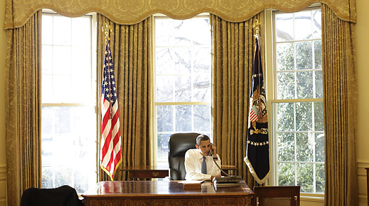 Obama In The Oval Office The Tin Man